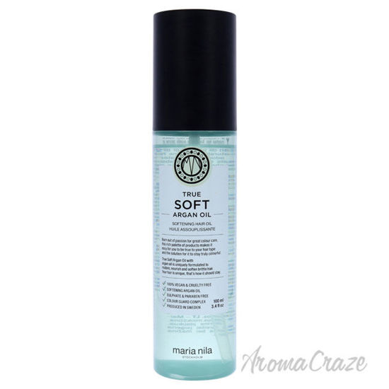 Picture of True Soft Argan Oil by Maria Nila for Unisex 3.4 oz Oil