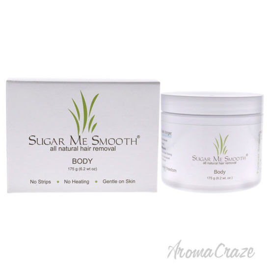 Picture of Body Hair Removal by Sugar Me Smooth for Unisex 6.2 oz Hair Removal