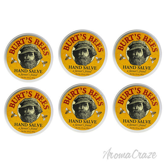 Picture of Hand Salve by Burts Bees for Unisex 3 oz Cream Pack of 6