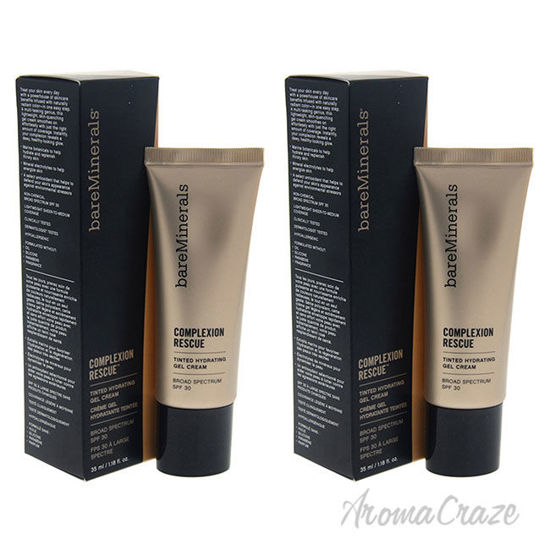 Picture of Complexion Rescue Tinted Hydrating Gel Cream SPF 30 05 Natural by bareMinerals for Women 1.18 oz Foundation Pack of 2