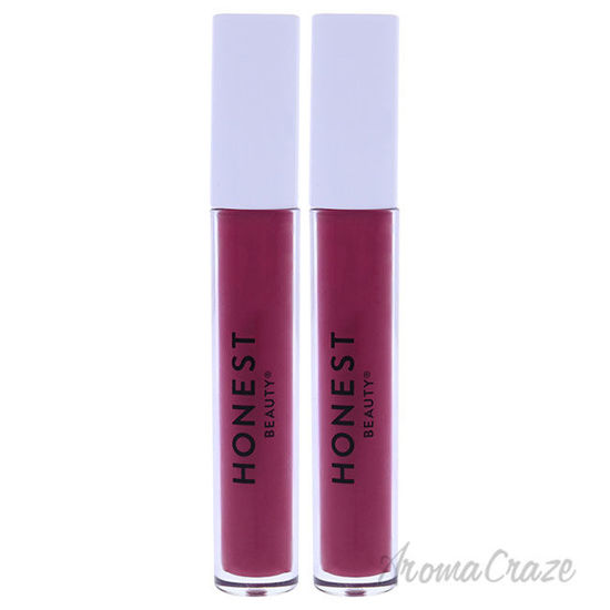 Picture of Liquid Lipstick Fearless by Honest for Women 0.12 oz Lipstick Pack of 2