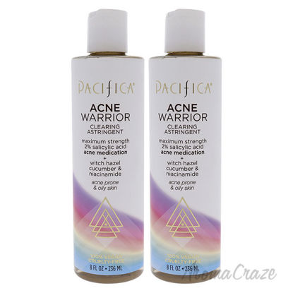 Picture of Acne Warrior Clearing Astringent by Pacifica for Unisex 8 oz Cleanser Pack of 2