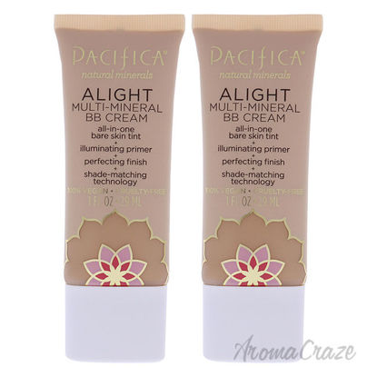 Picture of Alight Multi-Mineral BB Cream 6 Medium by Pacifica for Women 1 oz Makeup Pack of 2