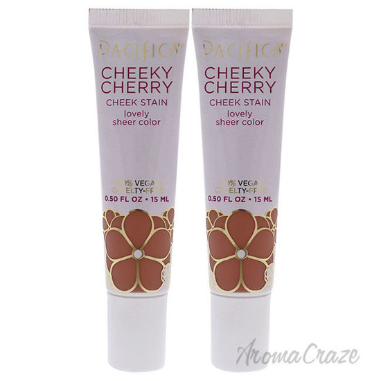 Picture of Cheeky Cherry Cheek Stain Cherry Baby by Pacifica for Women 0.5 oz Blush Pack of 2