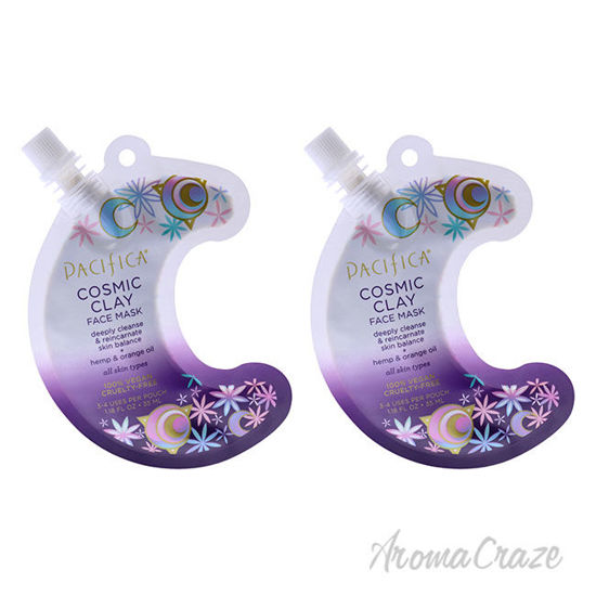 Picture of Cosmic Clay Face Mask by Pacifica for Unisex 1.18 oz Mask Pack of 2
