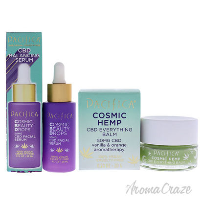 Picture of Cosmic Beauty and Cosmic Hemp Kit by Pacifica for Unisex 2 Pc Kit