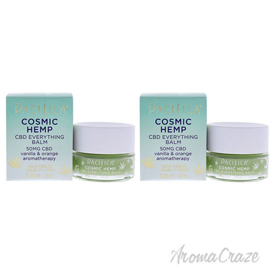 Picture of Cosmic Hemp CBD Everything Balm by Pacifica for Unisex 0.70 oz Balm Pack of 2