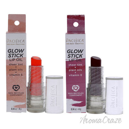 Picture of Glow Stick Lip Oil Kit by Pacifica for Women 2 Pc Kit