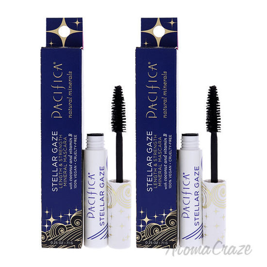 Picture of Stellar Gaze Length and Strength Mineral Supernova-Black by Pacifica for Women 0.25 oz Mascara Pack of 2