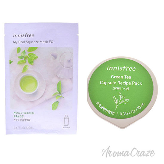 Picture of Innisfree Mask Green Tea Kit by Innisfree for Unisex 2 Pc Kit