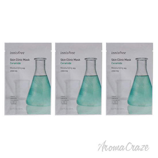 Picture of Skin Clinic Mask Ceramide by Innisfree for Unisex 0.67 oz Mask Pack of 3