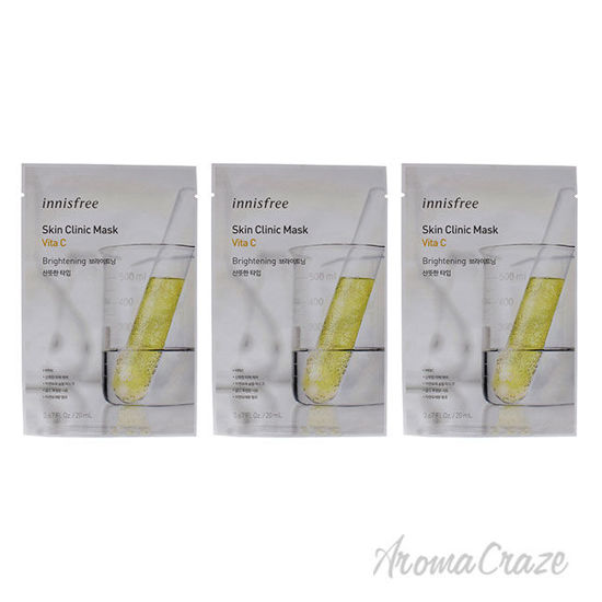 Picture of Skin Clinic Mask Vita C by Innisfree for Unisex 0.67 oz Mask Pack of 3