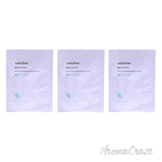 Picture of Cica Skin Mask Bija by Innisfree for Unisex 0.67 oz Mask Pack of 3