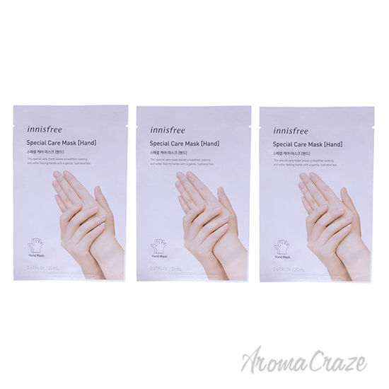 Picture of Special Care Hand Mask by Innisfree for Unisex 0.67 oz Mask Pack of 3
