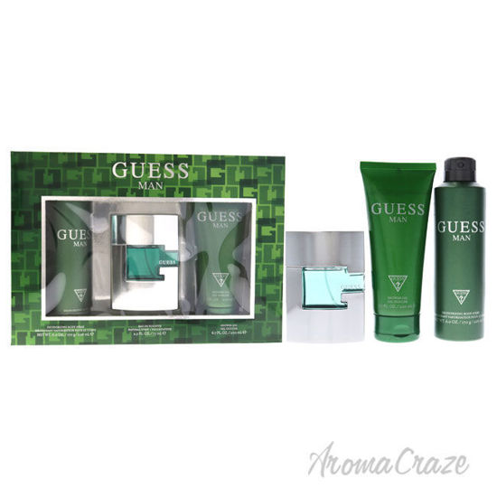 Picture of Guess Man by Guess for Men 3 Pc Gift Set