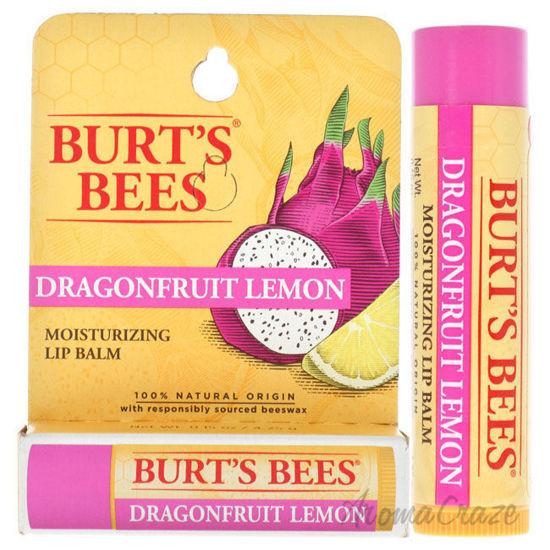 Picture of Dragonfruit Lemon Moisturizing Lip Balm by Burts Bees for Unisex 0.15 oz Lip Balm