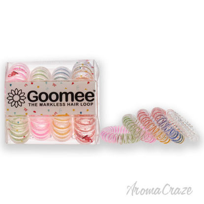 Picture of The Markless Hair Loop Set -Streak of Luck by Goomee for Women 4 Pc Hair Tie