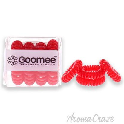 Picture of The Markless Hair Loop Set American Rose by Goomee for Women 4 Pc Hair Tie
