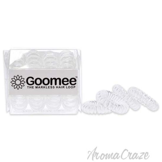 Picture of The Markless Hair Loop Set Diamond Clear by Goomee for Women 4 Pc Hair Tie