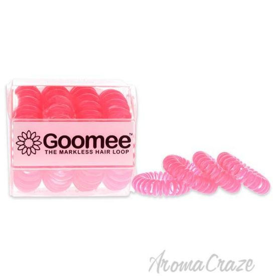 Picture of The Markless Hair Loop Set Got Pink by Goomee for Women 4 Pc Hair Tie